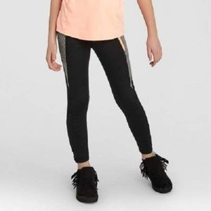 Champion B9189 Girls' Premium Striped Legging